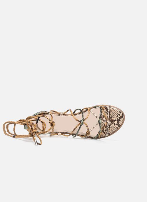 Sandali e scarpe aperte MTNG 50512 Verde immagine sinistra