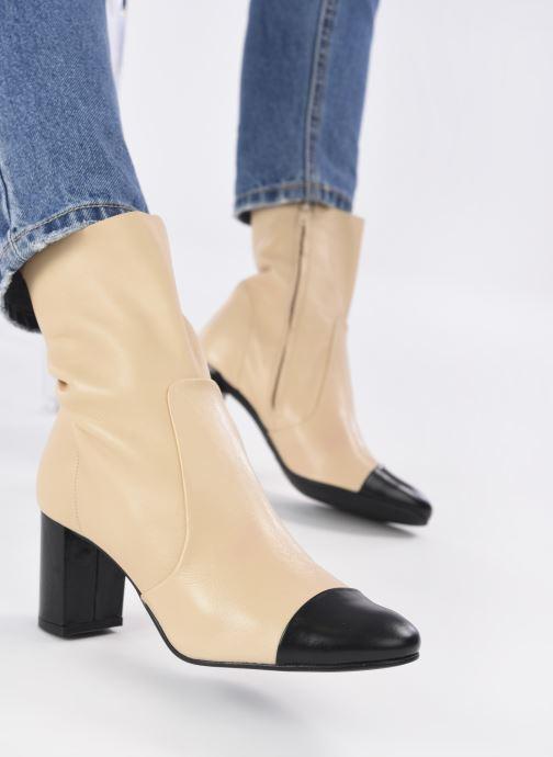 Stiefeletten & Boots Jonak DIDBOUT beige ansicht von unten / tasche getragen