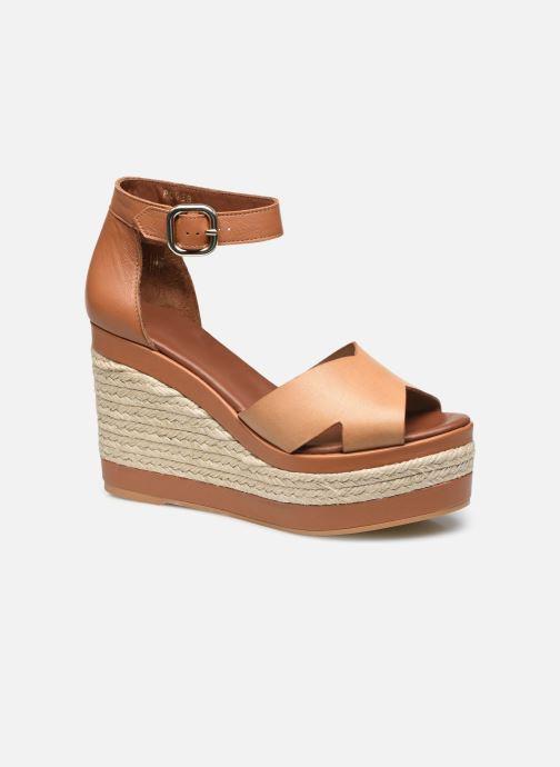 Espadrilles Alohas Sandals Citronella Plain Bruin detail