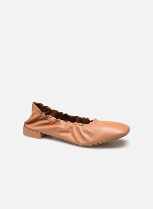 Ballerinas Alohas Sandals Habibi Camel braun detaillierte ansicht/modell
