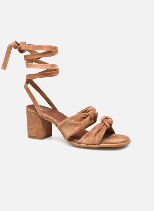 Sandalen Damen Oasis Camel