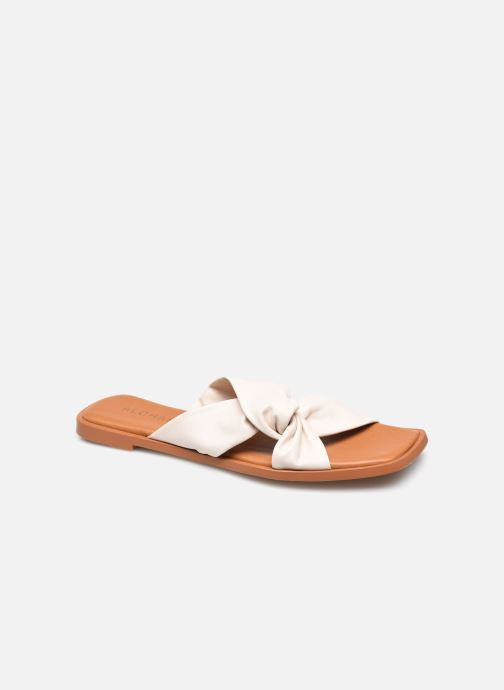 Wedges Alohas Sandals Nomad Off White Wit detail