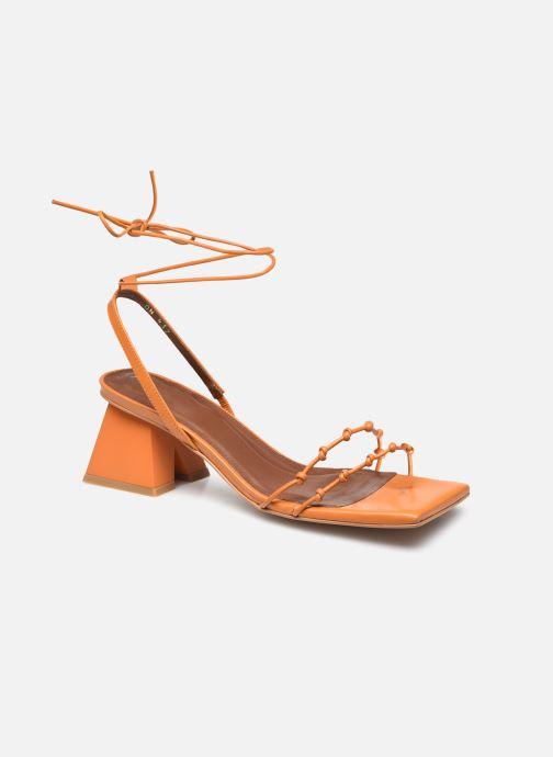 Sandalen Alohas Sandals Juniper Oranje detail