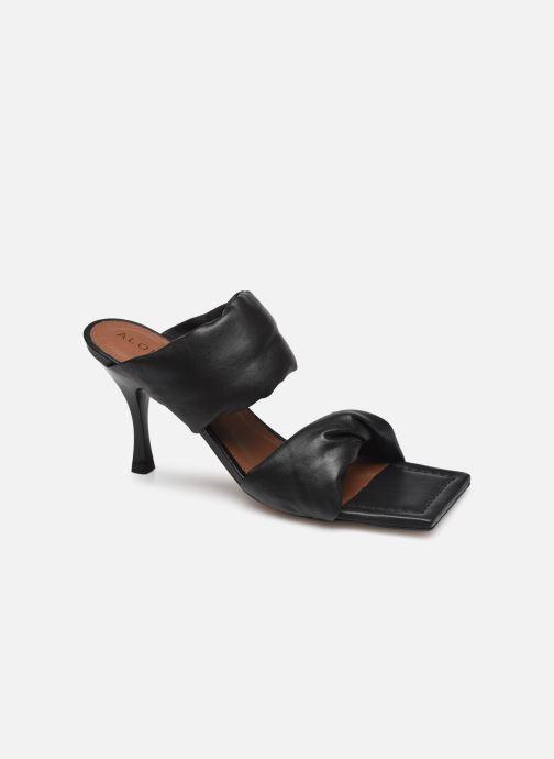 Wedges Alohas Sandals Twist Strap Zwart detail