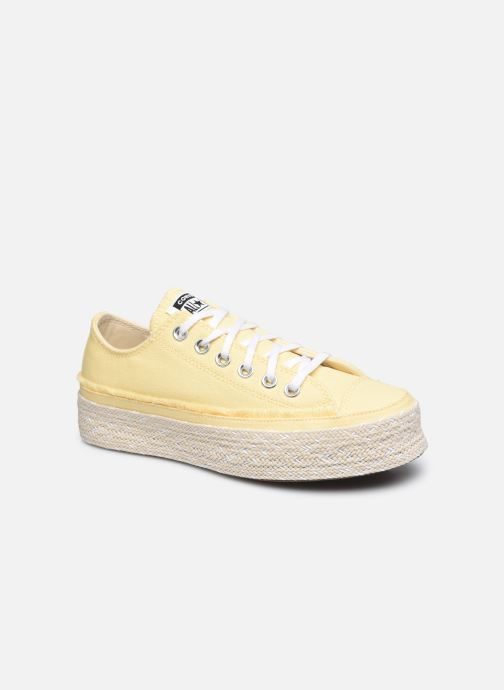 Sneakers Converse Chuck Taylor All Star Espadrille Ox W Geel detail