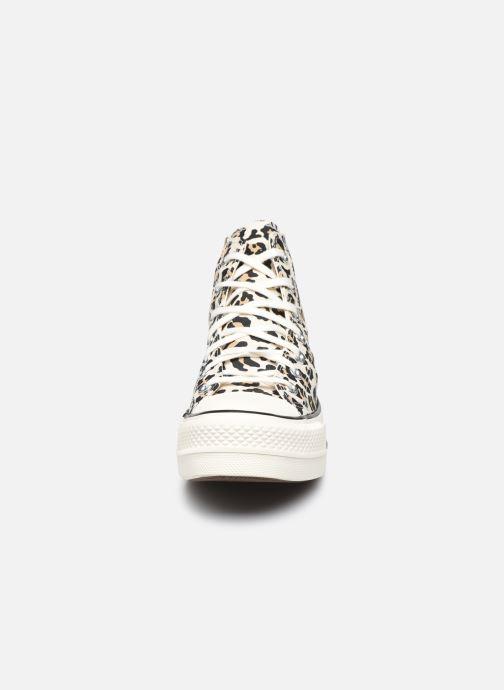 Sneaker Converse Chuck Taylor All Star Lift Hi W mehrfarbig schuhe getragen