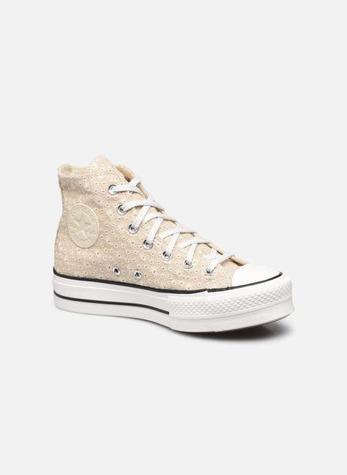 Sneaker Converse Chuck Taylor All Star Lift Hi W beige detaillierte ansicht/modell