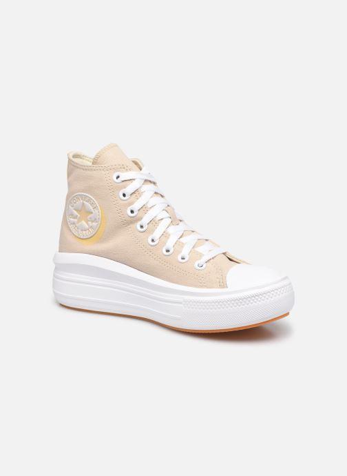 Sneaker Converse Chuck Taylor All Star Move Hi W beige detaillierte ansicht/modell