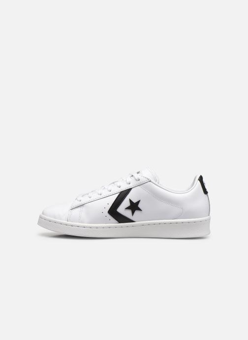 Sneakers Converse Pro Leather Ox Bianco immagine frontale