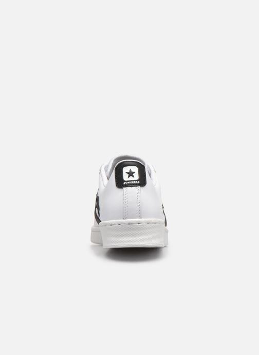 Sneakers Converse Pro Leather Ox Bianco immagine destra