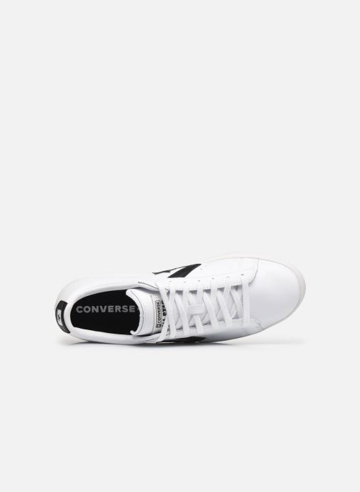 Sneakers Converse Pro Leather Ox Bianco immagine sinistra