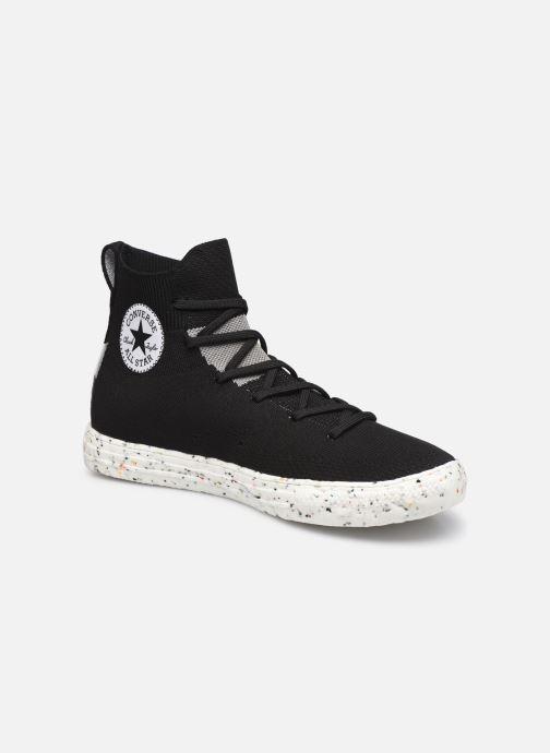 Sneakers Converse Chuck Taylor All Star Crater Knit Hi M Zwart detail