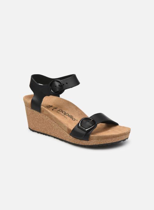 Sandales et nu-pieds Papillio SOLEY RING BUCKLE Noir vue détail/paire