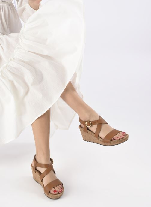 Sandales et nu-pieds Papillio SIBYL RING BUCKLE Marron vue bas / vue portée sac