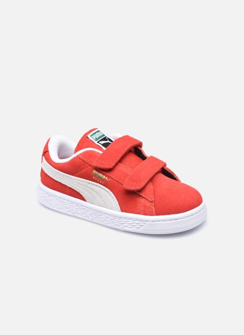 Sneakers Puma Suede Classic XXI K V Rood detail