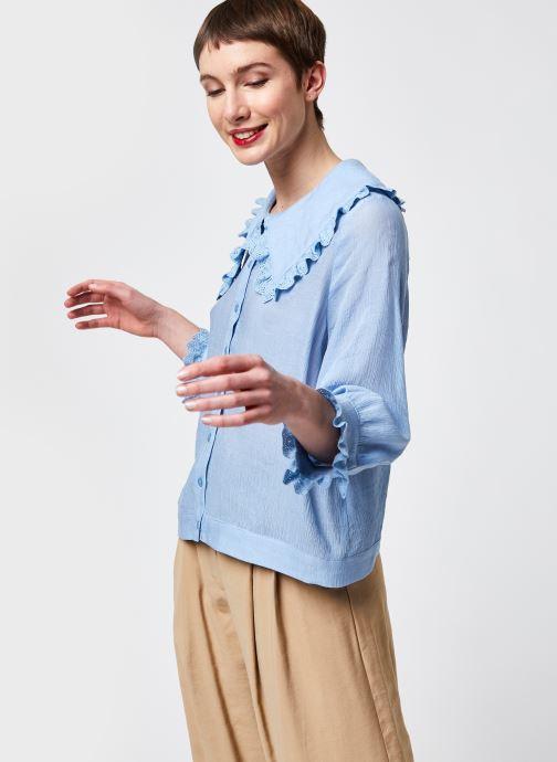 Vêtements An'ge Alexe Bleu vue droite