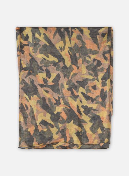 Sjaal Pieces LINDY LONG SCARF KAC FC Groen detail