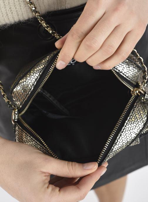 Handtaschen Pieces DAINO LEATHER CROSS BODY FC gold/bronze ansicht von hinten