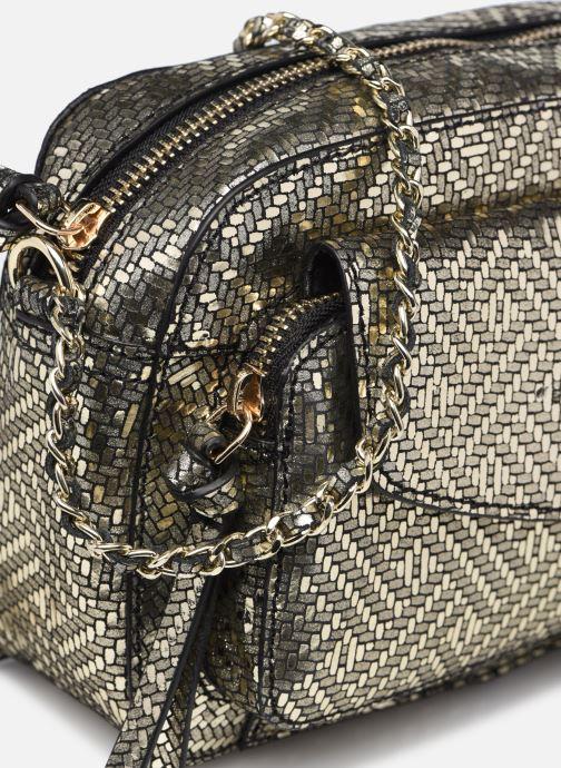 Handtaschen Pieces DAINO LEATHER CROSS BODY FC gold/bronze ansicht von links