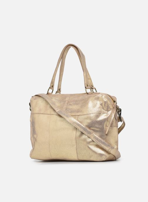 Handtaschen Pieces ANDREA LEATHER DAILY BAG FC gold/bronze ansicht von rechts