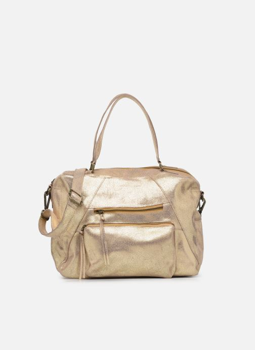 Handtaschen Pieces ANDREA LEATHER DAILY BAG FC gold/bronze detaillierte ansicht/modell