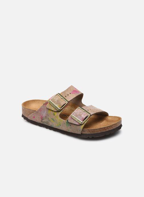 Sandales et nu-pieds Birkenstock Arizona Cuir Suede W Blanc vue détail/paire