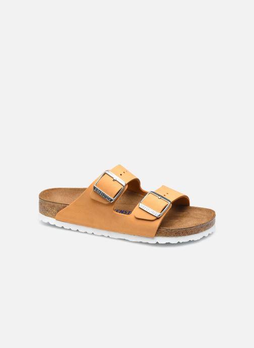 Sandalen Birkenstock Arizona Cuir Nubuck Soft Footbed W Oranje detail