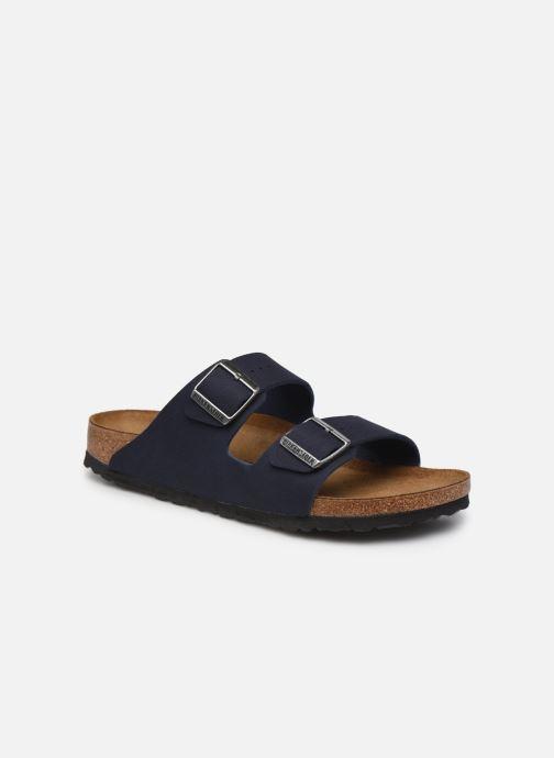 Sandales et nu-pieds Birkenstock Arizona Micro Fibre M Bleu vue détail/paire