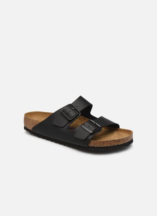 Sandales et nu-pieds Birkenstock Arizona  SFB Birko Flor Noir vue détail/paire