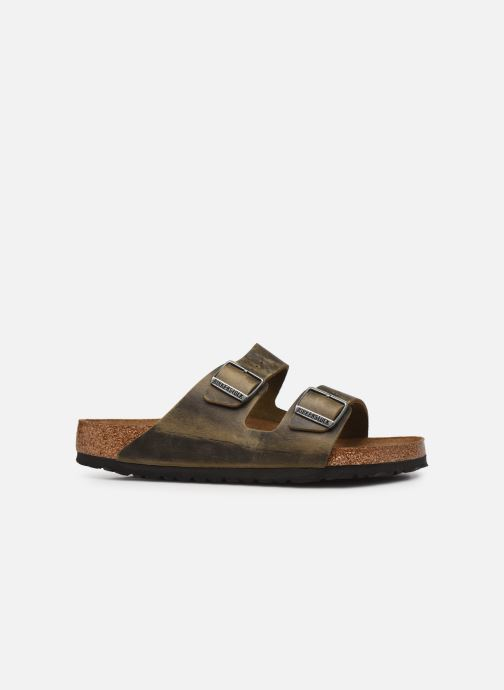Sandali e scarpe aperte Birkenstock Arizona  SFB Cuir Gras Verde immagine posteriore