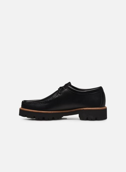 Veterschoenen G.H. Bass Wallace WMN Two-Eye Tie Shoe Zwart voorkant