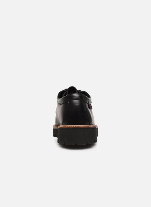 Veterschoenen G.H. Bass Wallace WMN Two-Eye Tie Shoe Zwart rechts