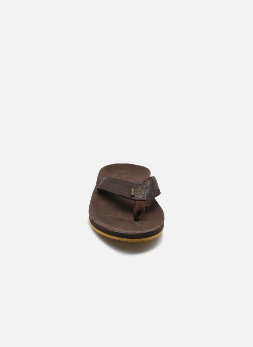 Zehensandalen Cool Shoe CLOUD DLX braun schuhe getragen