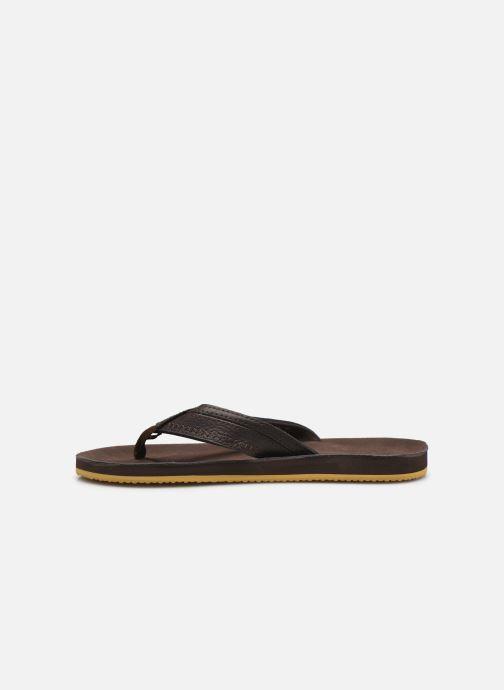 Zehensandalen Cool Shoe CLOUD DLX braun ansicht von vorne