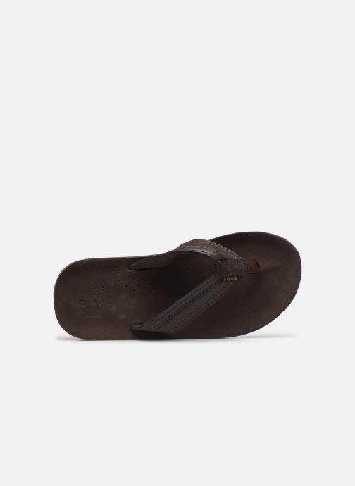 Zehensandalen Cool Shoe CLOUD DLX braun ansicht von links