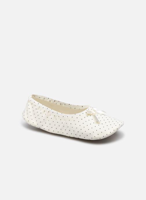 Pantoffels Dames Chaussons Ballerines Pois Femme