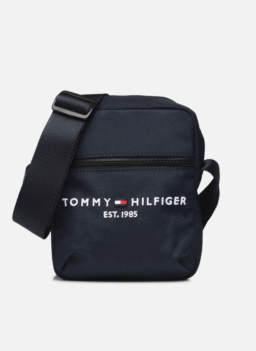 Kleine lederwaren Tommy Hilfiger TH ESTABLISHED MINI REPORTER Zwart detail