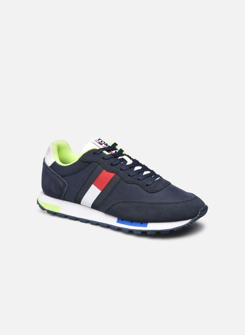 Sneaker Tommy Hilfiger RETRO TJM MIX POP RUNNER 58% RECYCLED blau detaillierte ansicht/modell