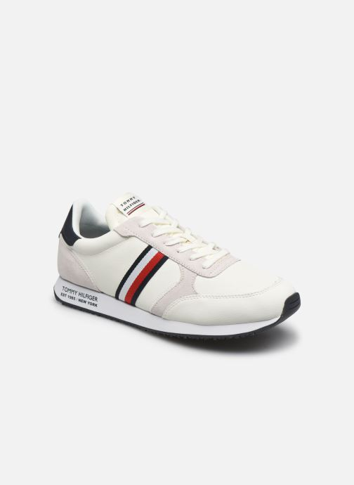 Baskets Homme RUNNER LO LEATHER STRIPES