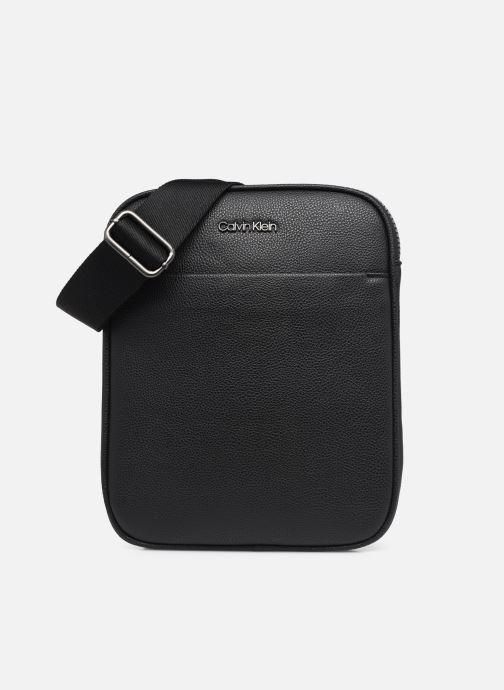Kleine lederwaren Calvin Klein FLATPACK 51% RECYCLED Zwart detail