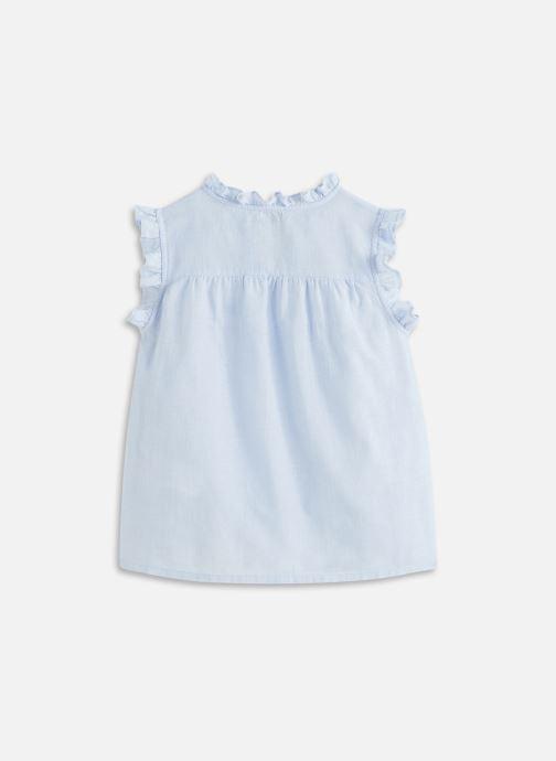 Vêtements Cyrillus Top sans manche dentelle Bleu vue bas / vue portée sac