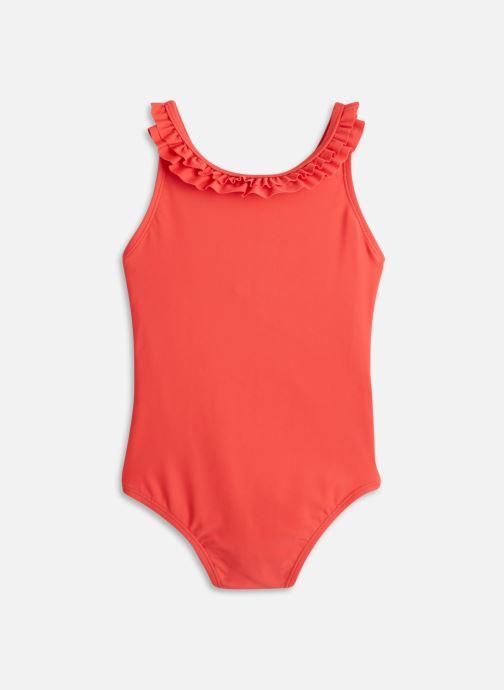 Vêtements Cyrillus 1 pc volanté froufrou Rouge vue détail/paire