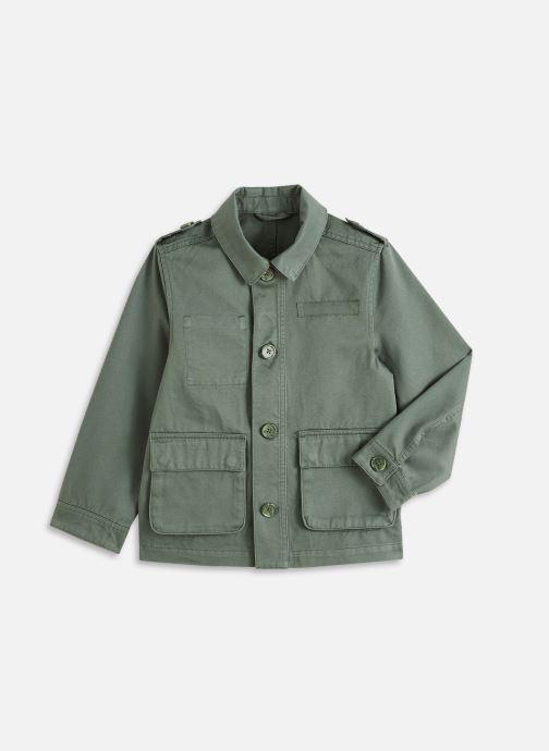 Vêtements Cyrillus Veste saharienne Vert vue détail/paire