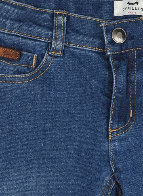 Vêtements Cyrillus Jean slim denim Bleu vue face