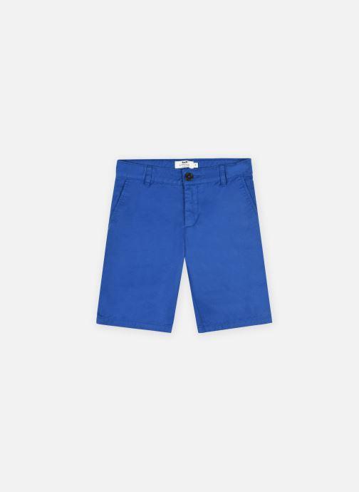 Vêtements Cyrillus Bermuda épuré Bleu vue détail/paire