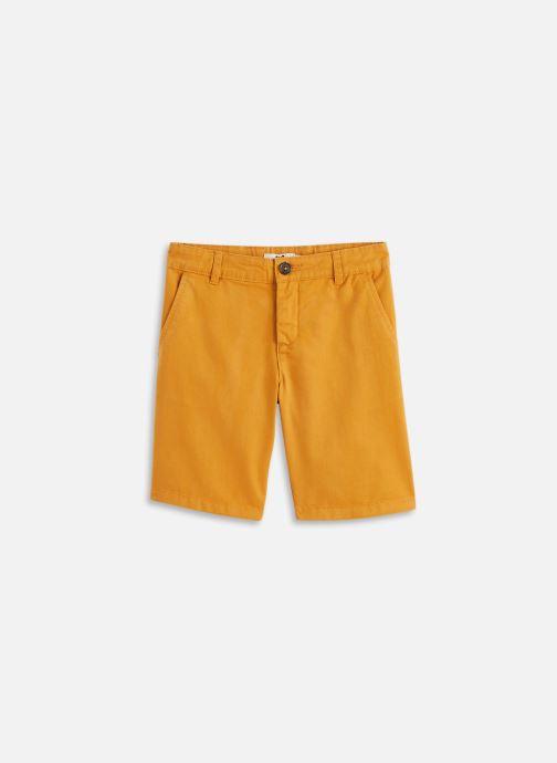 Vêtements Cyrillus Bermuda épuré Orange vue détail/paire