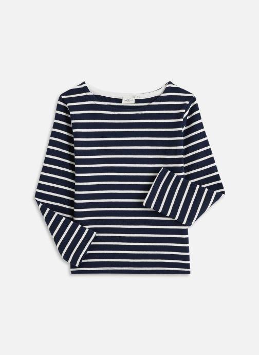 Vêtements Cyrillus ML marinière Bleu vue détail/paire