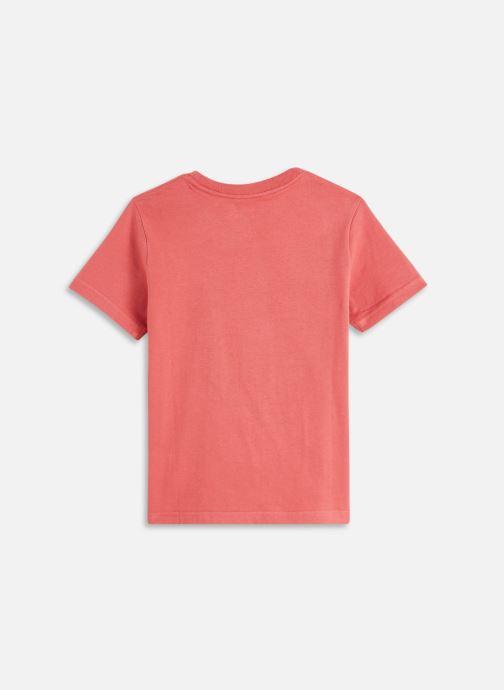 Vêtements Cyrillus Tee shirt MC print multico Rouge vue bas / vue portée sac