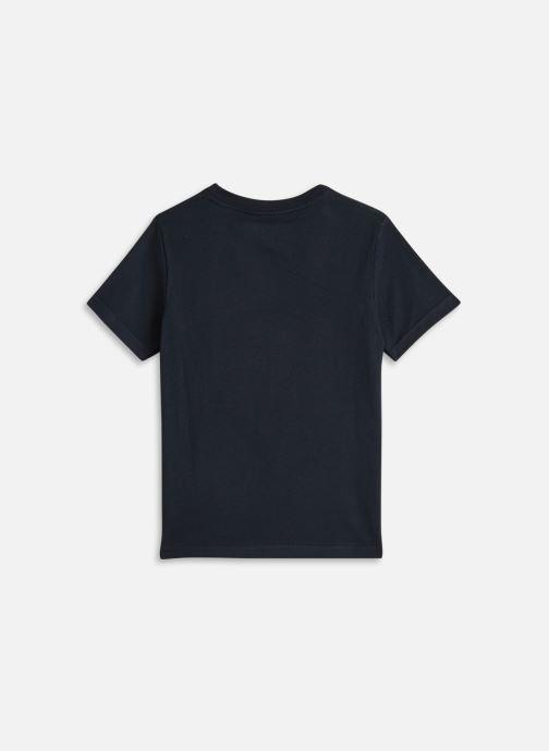 Vêtements Cyrillus T-shirt MC print Bleu vue bas / vue portée sac