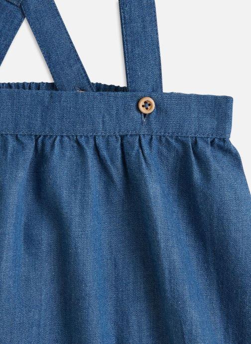 Vêtements Cyrillus Bloomer bretelles Bleu vue portées chaussures
